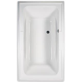American Standard Town Square Soaking White Bathtub