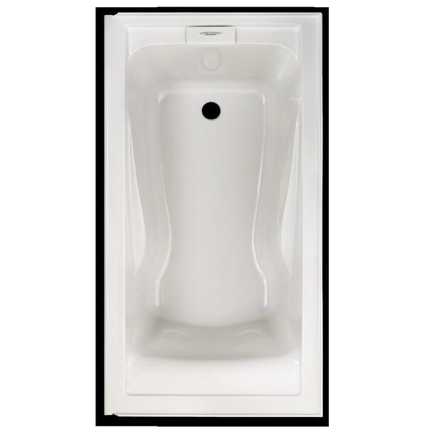 American Standard Evolution Soaking White Bathtub