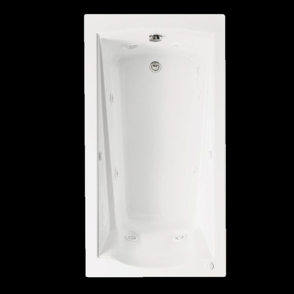 American Standard Evolution Acrylic Whirlpool White Bathtub