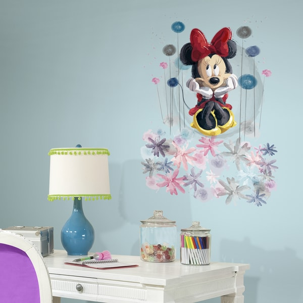Minnie Floral Giant Wall Graphic
