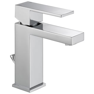 Delta Stainless Steel ARA Single Handle Lavatory Faucet