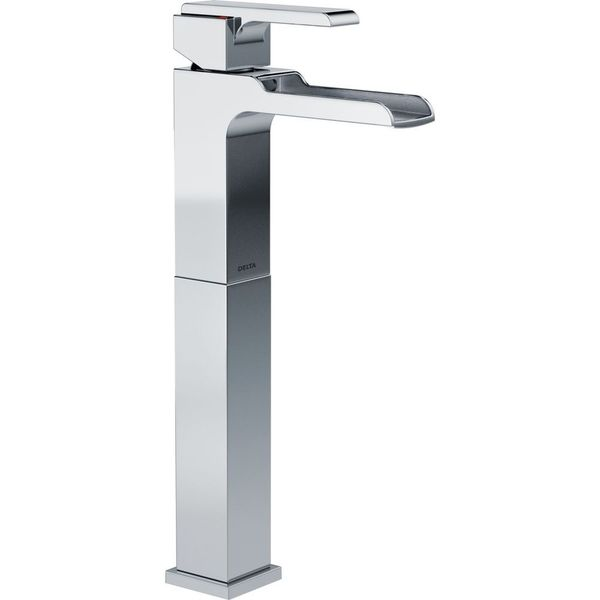 Delta Ara Single Handle Single Hole Lavatory Faucet with Riser
