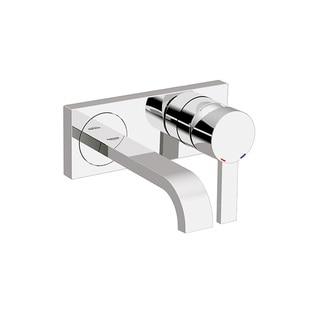 Grohe Allure Starlight Chrome Single Hole Bathroom Sink Faucet