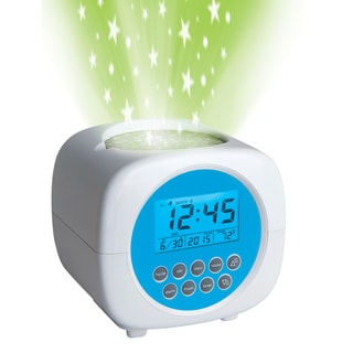 Discovery Kids Sound Machine Projection Alarm Clock