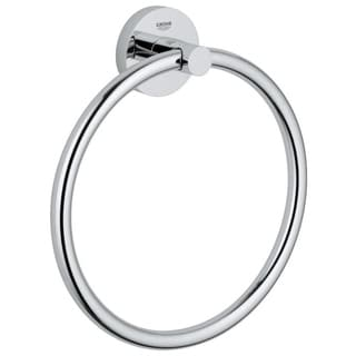 Grohe Essentials Towel Ring Starlight Chrome