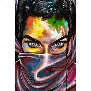 Maxwell Dickson 'The Eyes Never Lie' Modern Canvas Wall Art