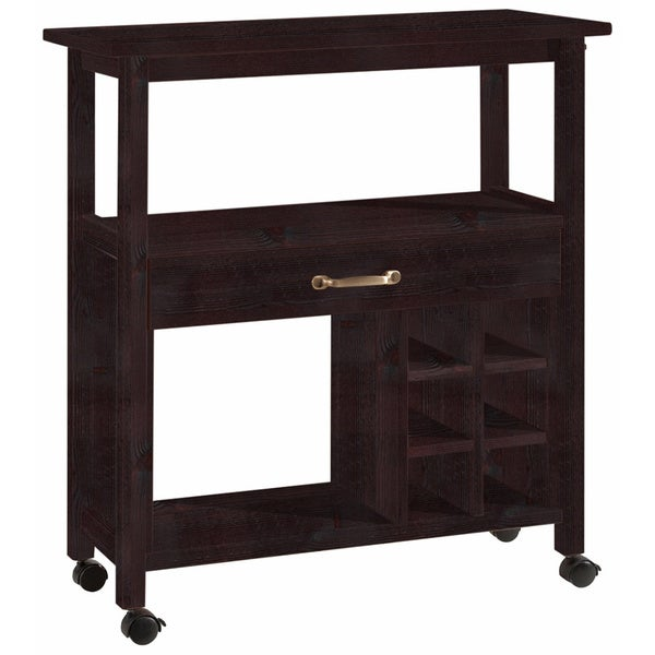 Jerup Wooden Kitchen Trolley