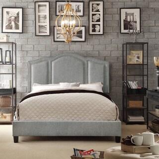 Moser Bay Furniture Belita Grey Upholstery Platform Bed