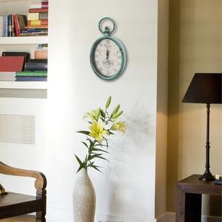 Stratton Home Decor Antique Oval Clock