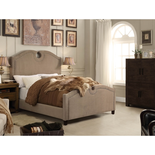 Moser Bay Furniture Eilo Mocha Queen Upholstered Bed