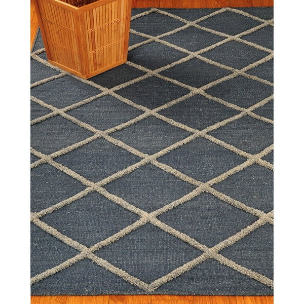 Hand Woven City Retreat Moroccan Wool 4' x 6' Rug