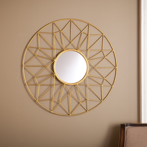 Upton Home Kenda Round Decorative Mirror