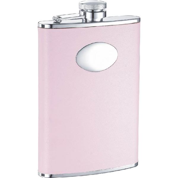 Visol Daydream Pink Leather Liquor Flask - 8 ounces 16290458