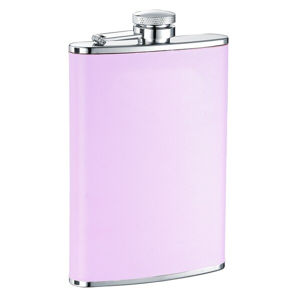 Visol Daydream X Pink Leather Liquor Flask - 8 ounces 16290471