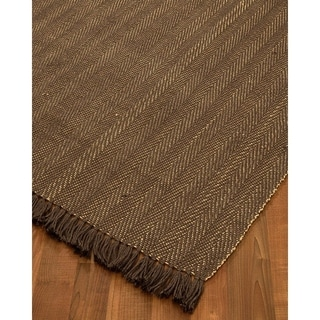 Natural Area Rugs Handloomed Graphic Jute Rug (9' x 12')
