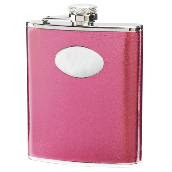 Visol Lydia Hot Pink Liquor Flask - 6 ounces 16290521
