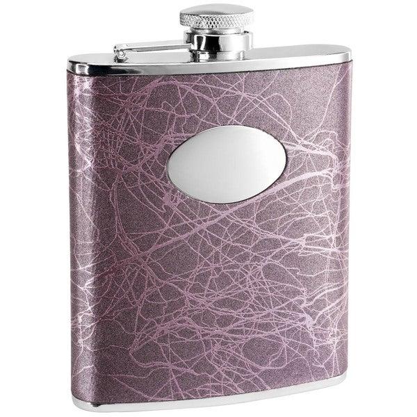 Visol Lightning Purple Liquor Flask - 6 ounces 16290558