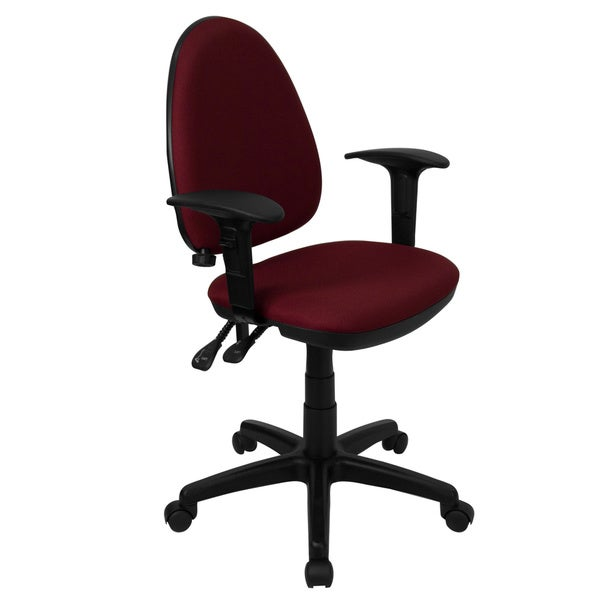 Mid-Back Fabric Multi-Functional Office Chair