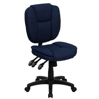 Mid-Back Fabric Multi-Functional Ergonomic Office Chair