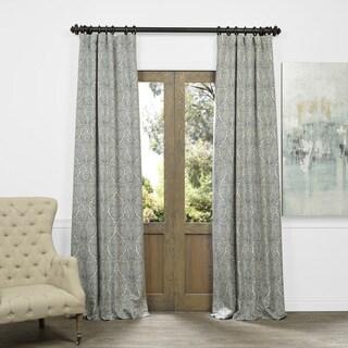 Ayr Faux Silk Jacquard Curtain