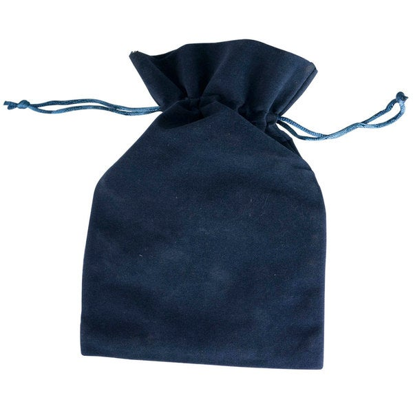 Visol Navy Blue Velvet Pouch for Flask