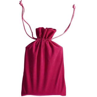 Visol Hot Pink Velvet Pouch for 6 oz Flasks