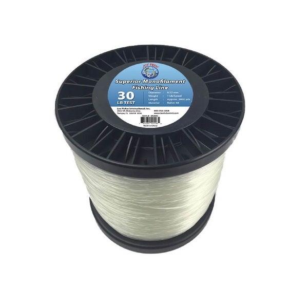 Joy Fish 5 Lb Spool Monofilament Fishing Line-30Lb
