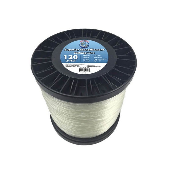 Joy Fish 5 Lb Spool Monofilament 120-pound Test Fishing Line