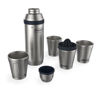 Stanley 30oz Happy Hour Shaker and Four 7oz. Cups