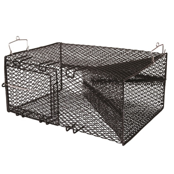 Flambeau Black Pinfish Trap with Sliding Door
