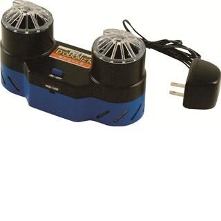 Peet Shoe Dryer CO3 Ozone Oder Eliminator - Black/ Blue