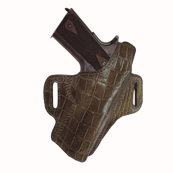 Tagua Premium Thumb Break Brown Belt Holster Glock 17