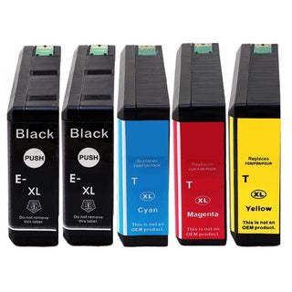 Replacing 5-Pack 786 786XL Ink Cartridge for Epson WF-4630 WF-4640 WF-5110 WF-5190 WF-5620 WF-5690 Series Printer