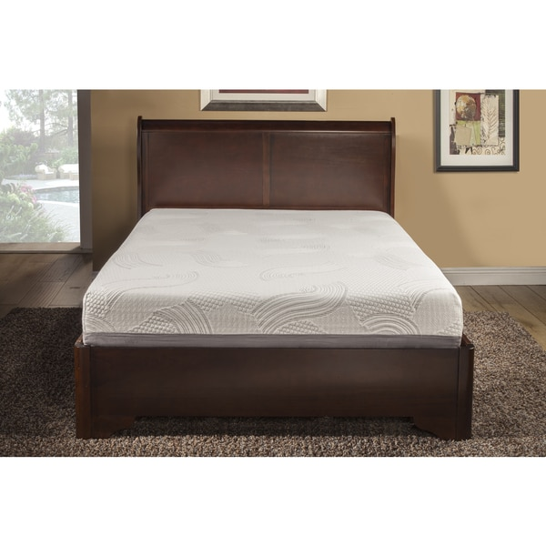 Supreme Temperature Balance 10-inch Full-size Gel Memory Foam Mattress