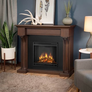 Real Flame Verona Chestnut Oak Electric Fireplace