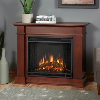 Real Flame Devin Dark Espresso Electric Fireplace