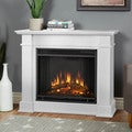 Real Flame Devin White Electric 36.3-inch Fireplace