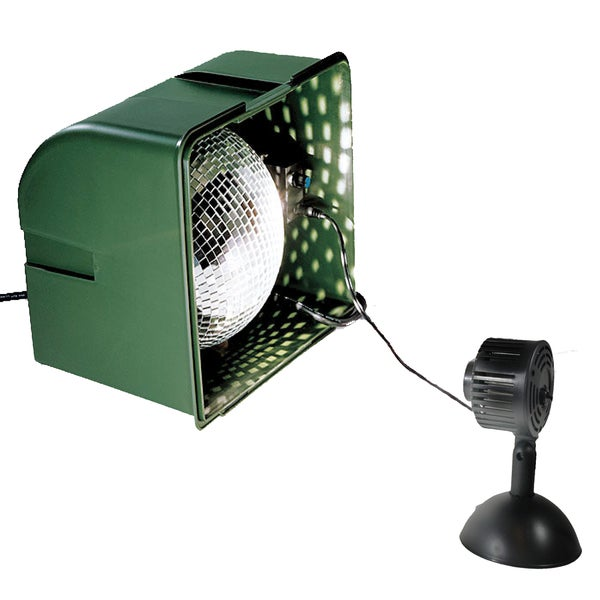 Light Projector Realistic Snowfall Light with LED Spot Lamp (As Is Item)