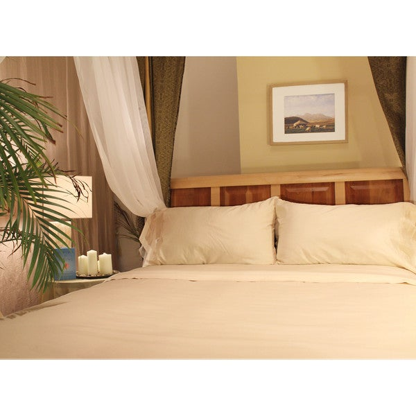Sleep & Beyond Organic Cotton Ivory Sheet Set