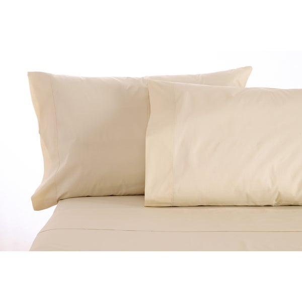 Sleep & Beyond Natural Cotton mySheet Natural Sheet Set