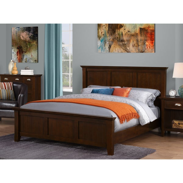 Wyndenhall Tobacco Brown Normandy Bedroom Queen Bed Frame