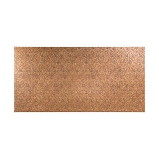 Fasade Nettle Cracked Copper Wall Panel (4' x 8')
