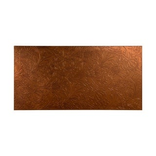 Fasade Nettle Oil Rubbed Bronze Wall Panel (4' x 8')