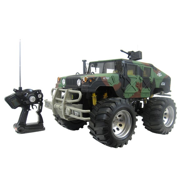 1:4 Super Remote Control Rock Crawler in Camo