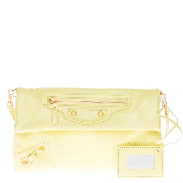 Balenciaga Classic Envelope Strap Clutch