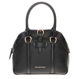 Burberry Small Milverton Leather Bowling Bag
