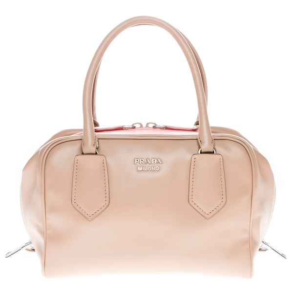 Prada Small Soft Calf Leather Inside Bag