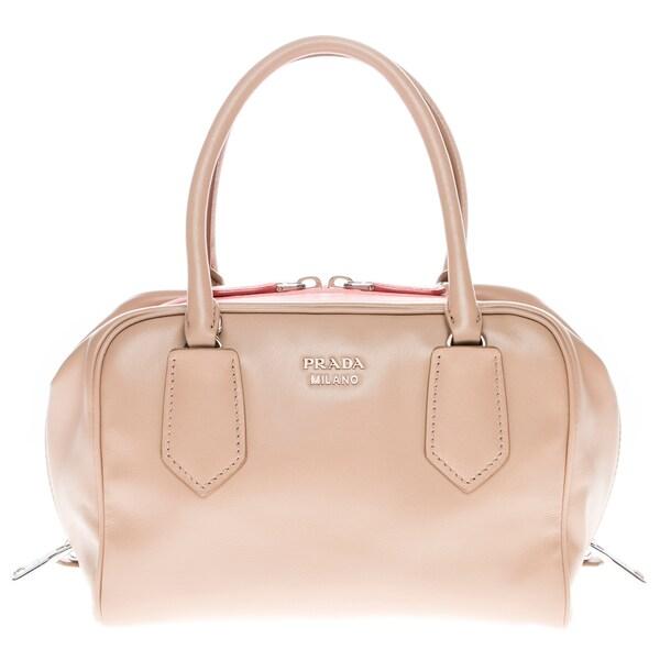 Prada Small Soft Calf Leather Inside Bag