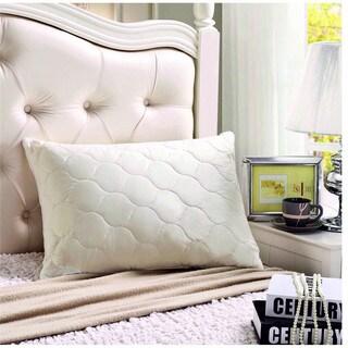 Sleep & Beyond Washable and Adjustable myWoolly Wool Pillow