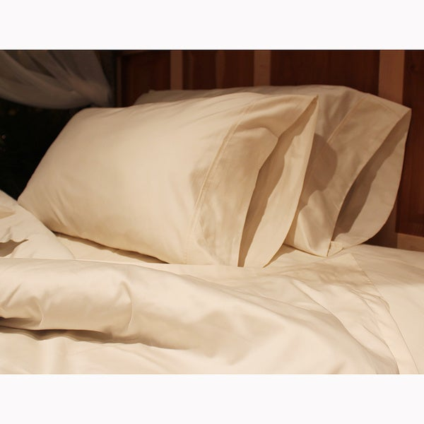 Sleep & Beyond Organic Cotton 300 TC Pillow Case (Set of 2)